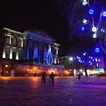 Harris Museum - Festive lights in Preston, Lancashire