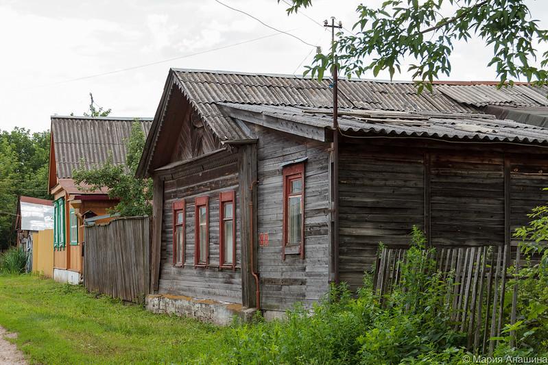 Рязань, старый дом