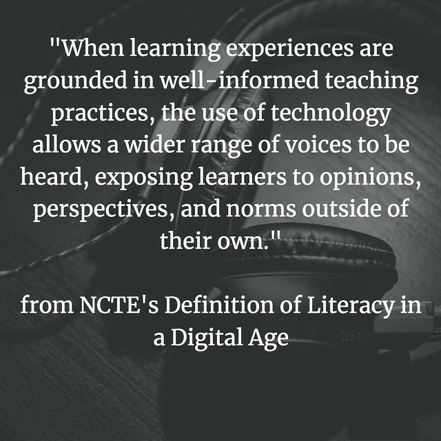 Defining Digital Literacies NCTE collaborations