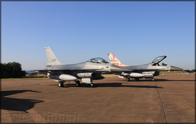 J-017 General Dynamics F-16AM Fighting Falcon Netherlands Royal Air Force