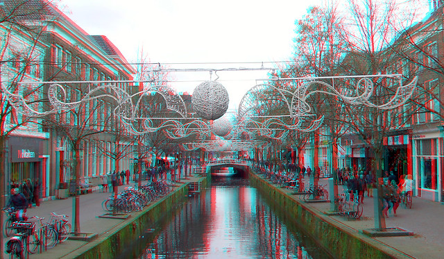 Oude Gracht Delft 3D