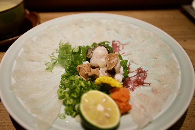 Sashimi of Stonefish