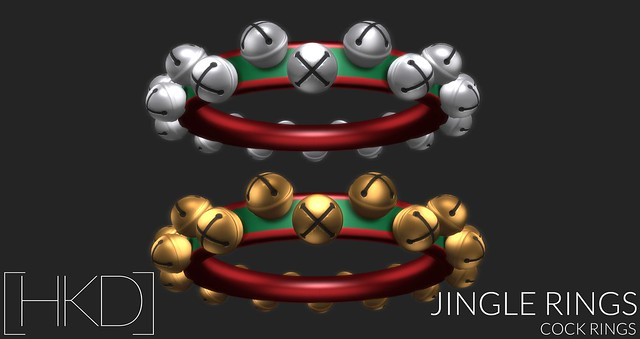 [HKD] Jingle Rings - Cock Rings
