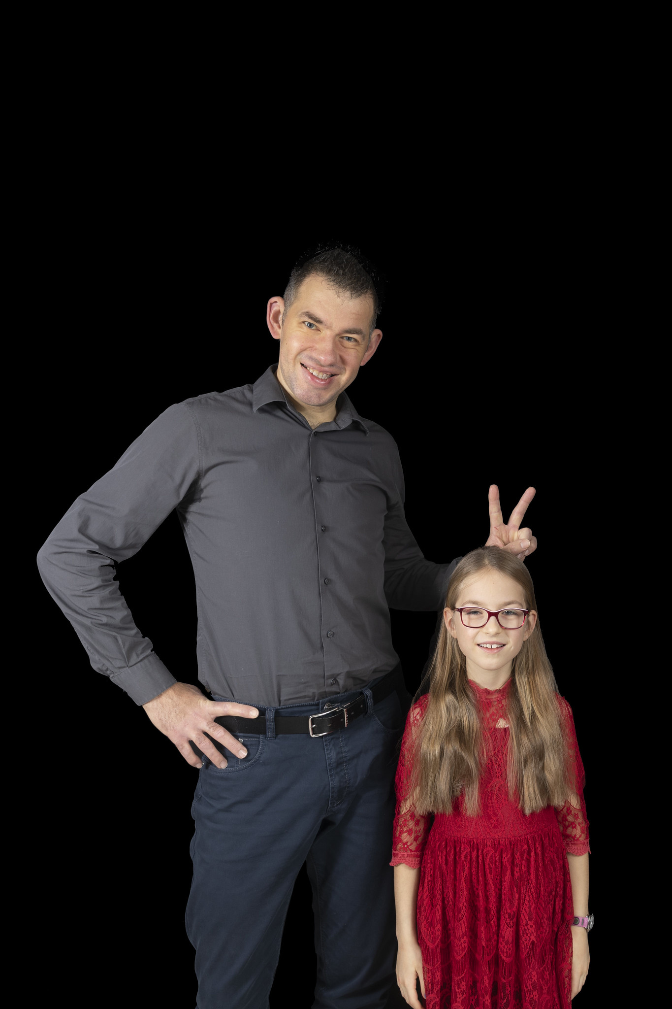 Fotoshooting Familie Braun