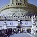 Rome - Castel Sant'Angelo (35mm Kodak Gold 400)