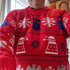 Christmas jumper acquired