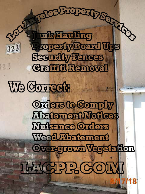 foreclosure long beach property emergency securing