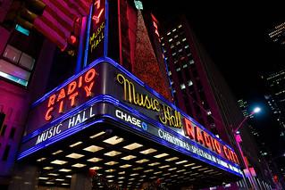 Radio City at Christmas Time (NYC)