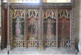Four Latin Doctors: St Gregory, St Augustine, St Ambrose, St Jerome