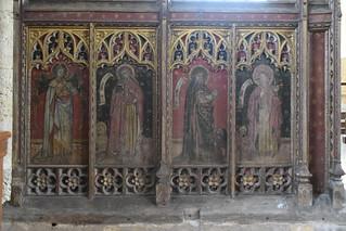 Four Evangelists: St Matthew, St Mark, St Luke, St John