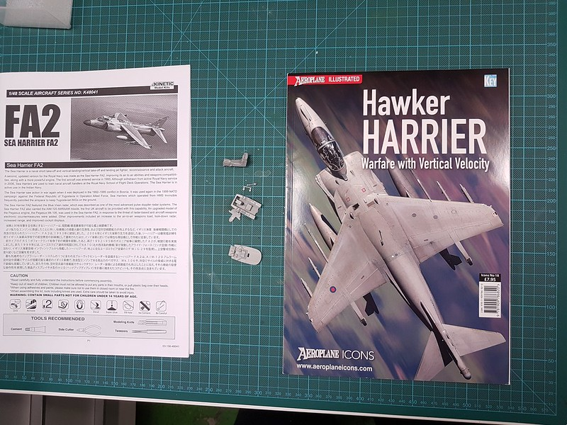 Kinetic 1/48 Sea Harrier FA.2 49182568228_af6b5284c4_c