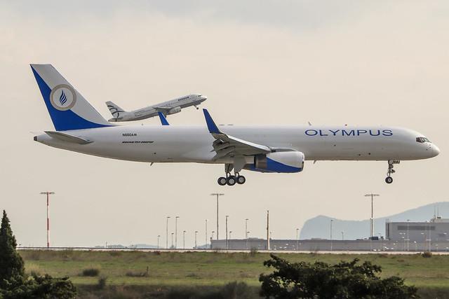 Olympus Airways - N660AM - B757-200 PCF