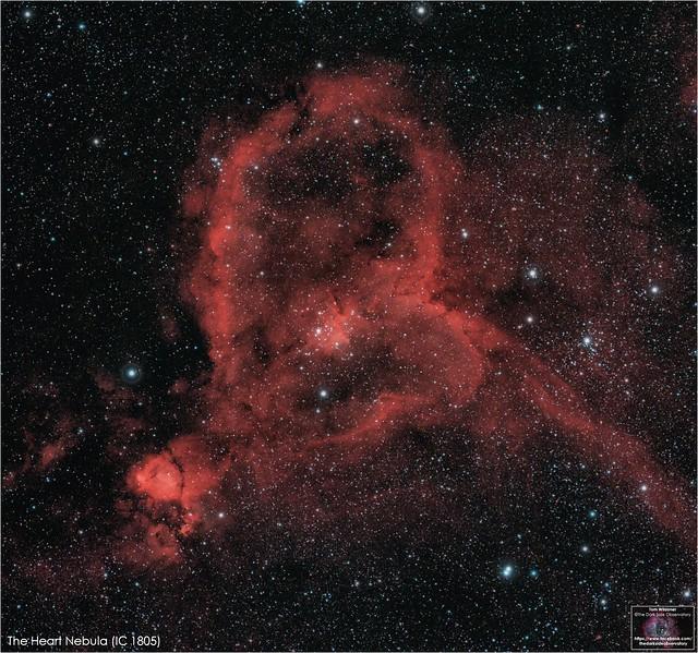 The Heart Nebula (IC 1805)