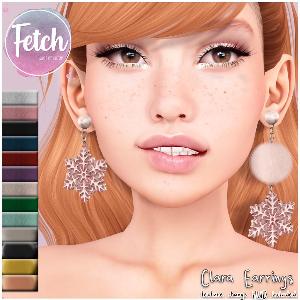 [Fetch] Clara Earrings @ Collabor88