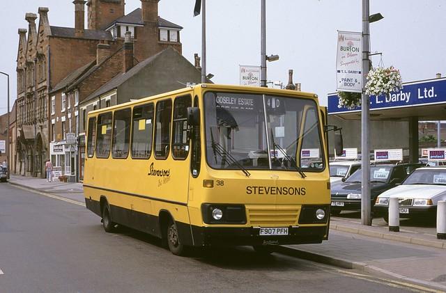 38. F907 PFH: Stevenson, Uttoxeter