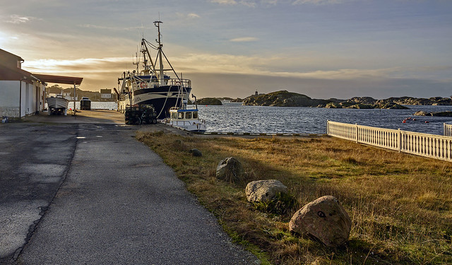 The fishing reception at Ulvøysund