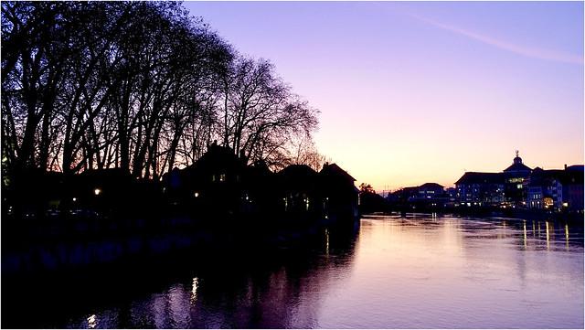 Purple hour