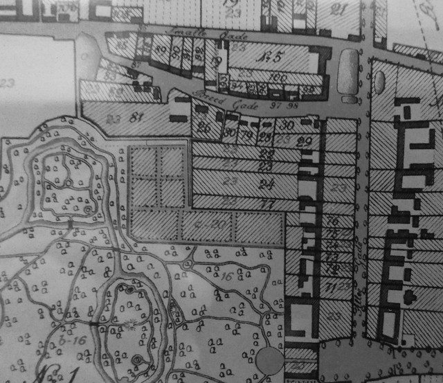 1811 - Plan of Alle Gade and Frederksberg Bredegade