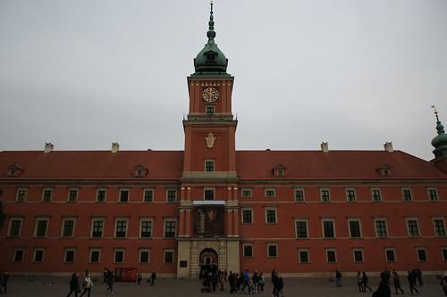 Il castello reale di Varsavia