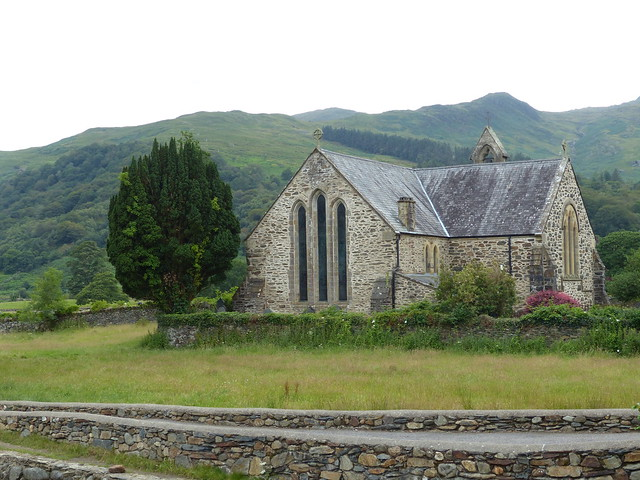 Church Near 'Gelert's Grave'