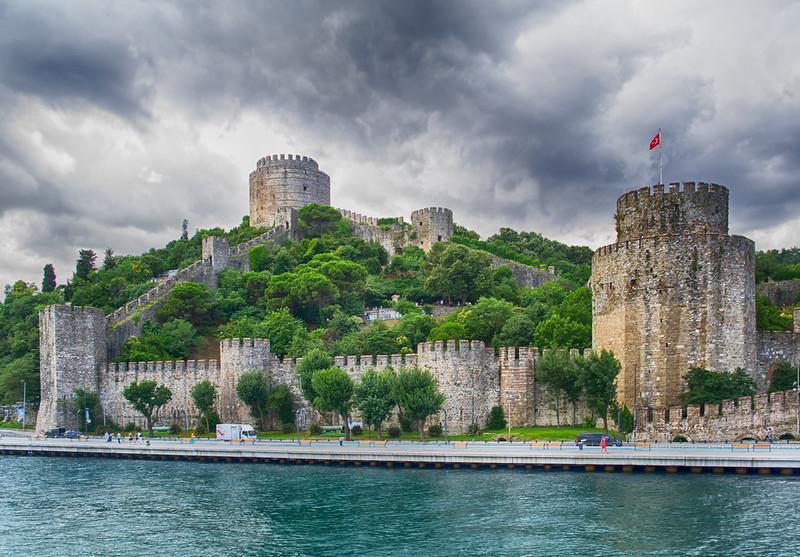Rumeli Hisari Fortress at Bosphorus. Turkey