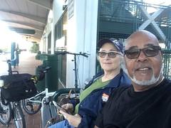 Jodi & Sergio out on a South Florida adventure.