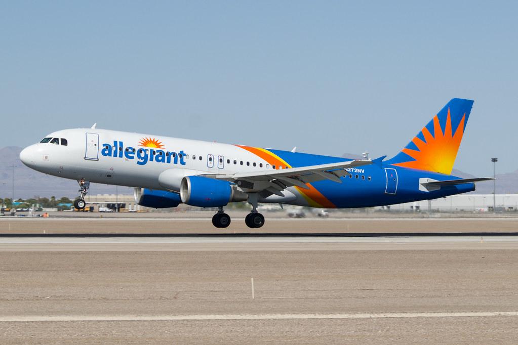 N272NV Allegiant Air Airbus A320-214 @ Las Vegas McCarran (LAS / KLAS)
