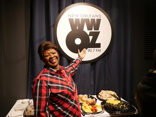Irma Thomas at WWOZ's 39th birthday - Dec. 4, 2019. Photo by Louis Crispino.