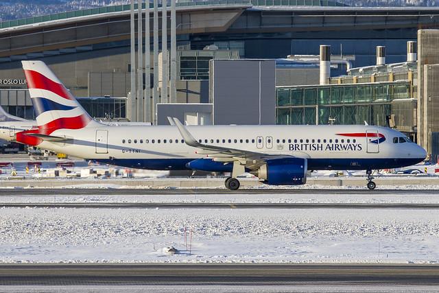 G-TTNI British Airways Airbus A320-251N cn:8767