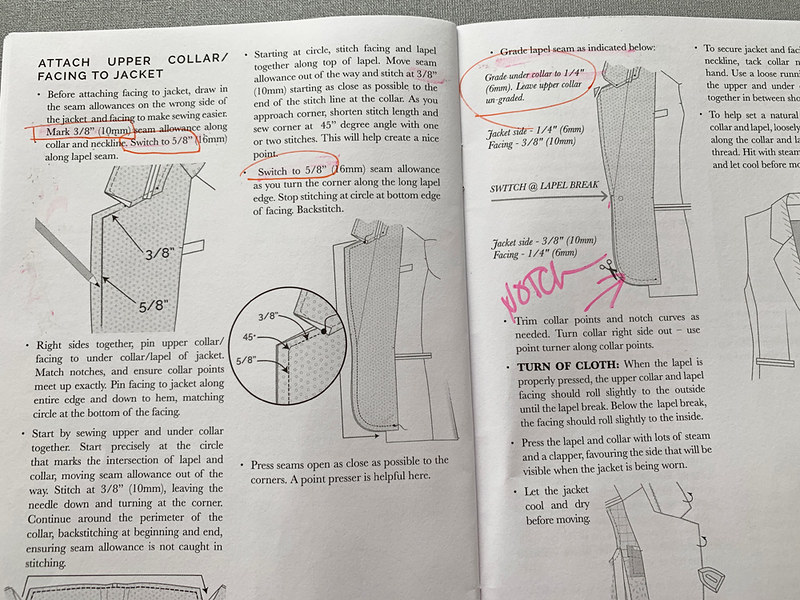 CC jasika lapel instruction page