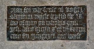 Pray for the soule of Roger Skynnar (1534)