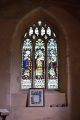 south aisle east window: Presentation in the Temple (AL Moore, 1913)