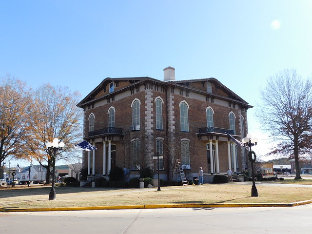 The Old Pickens County Courthouse