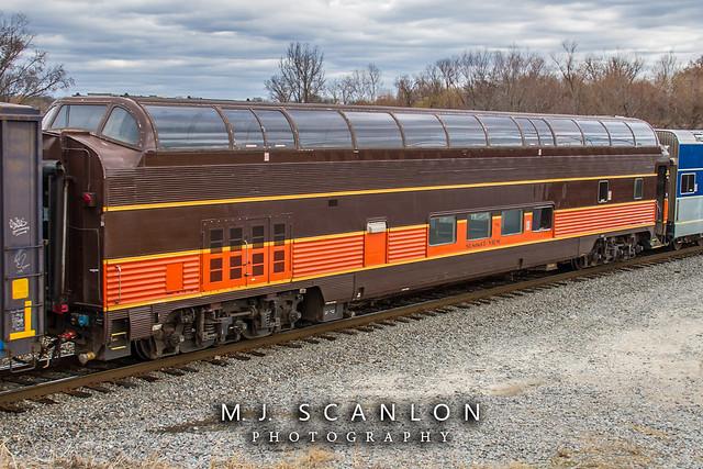 SLRG 554 | Dome Car | CN Harrison Yard
