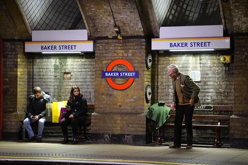 #Travel #BakerStreetTubeStation #London #CanonEosR #EosR #RFLens #RF24to105mmF4