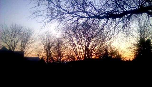 December sunrise! Menominee Michigan
