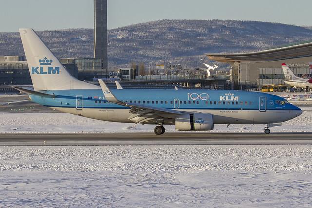 PH-BGW KLM Royal Dutch Airlines Boeing 737-7K2(WL) cn:38128 / 3797