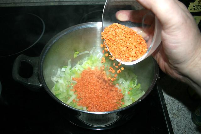 33 - Linsen hinzufügen / Add lentils
