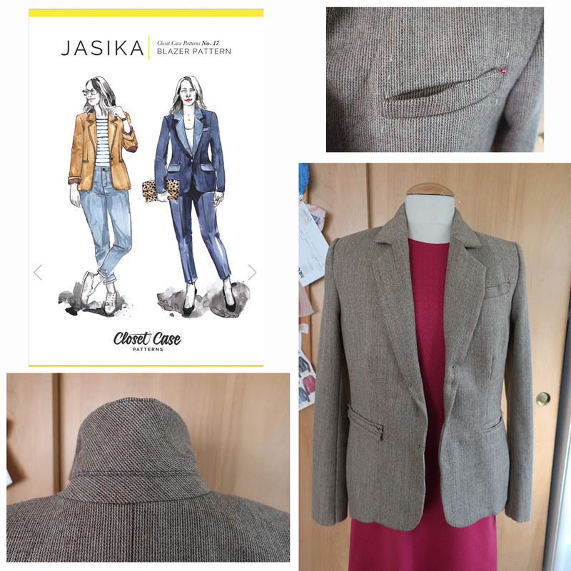 CC Jas blazer composite