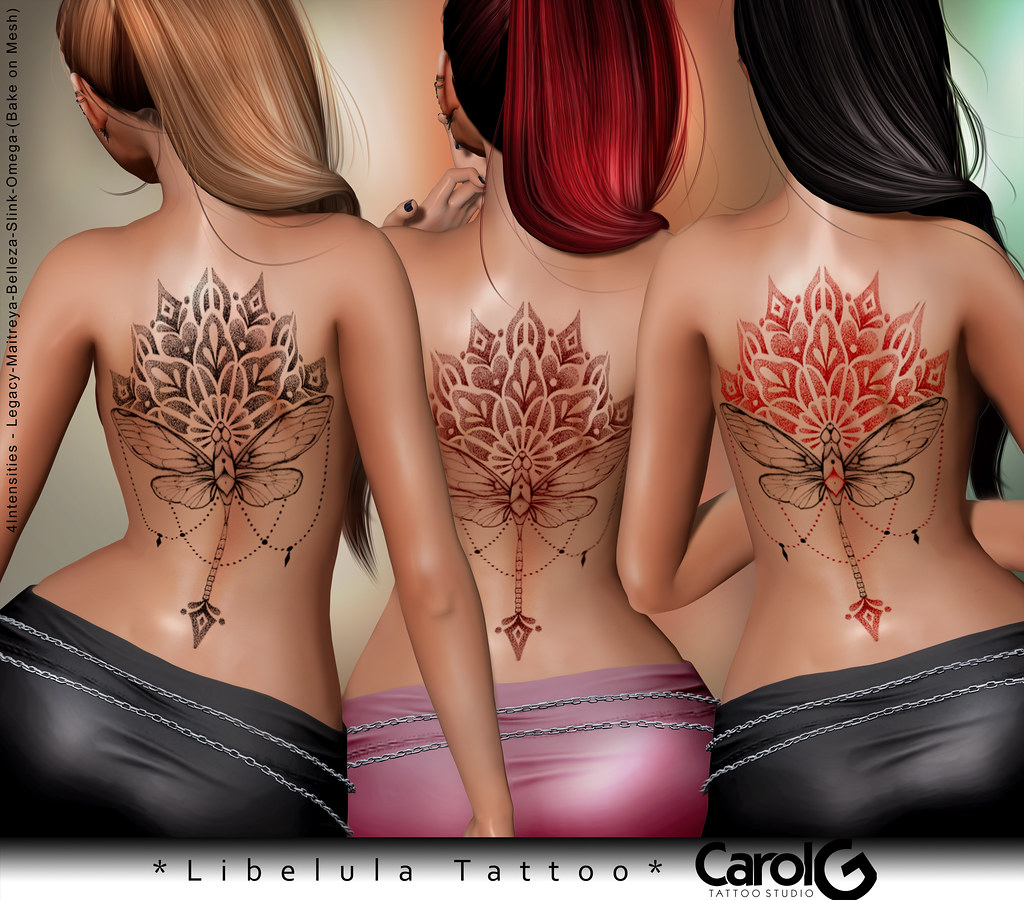 Libelula Back TaTToo [CAROL G]