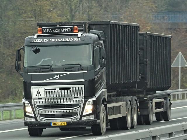 Volvo FH4 drawbar from Verstappen Holland.