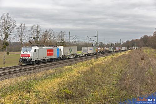 186 187 . Crossrail . 40000 . Hofstadt , Herzogenrath . 07.12.19.