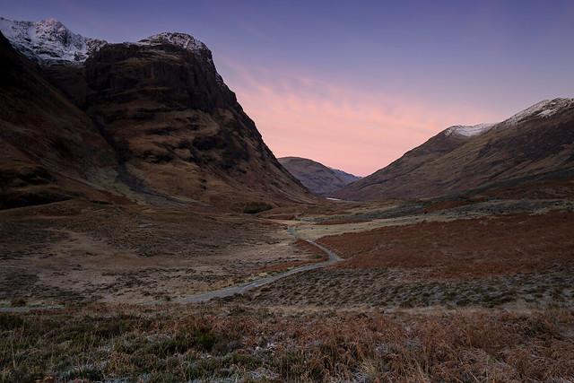 The Pass of Glen Coe