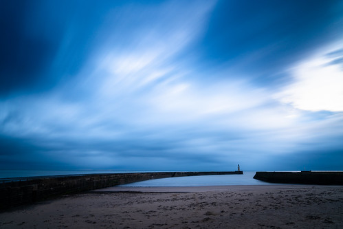 longexposure lighthouse seascape sunrise moody sonya7iii clouds dawn bluehour cloudstreak