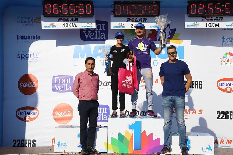 Trofeos  Marathon  Lanzarote International 2019