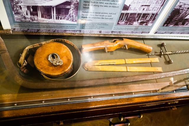 Antique building tools