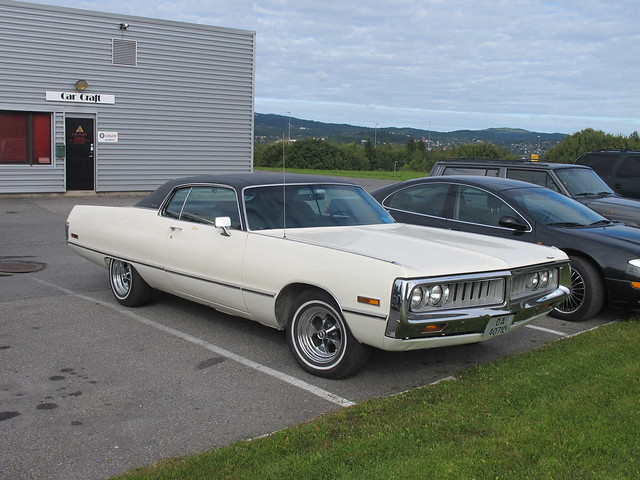 1972 Chrysler Newport Custom Coupè