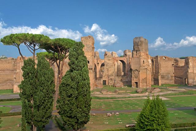Baths of Caracalla-Rome Italy  04035