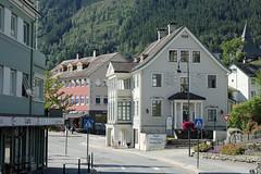 In the Grova street of Norheimsund