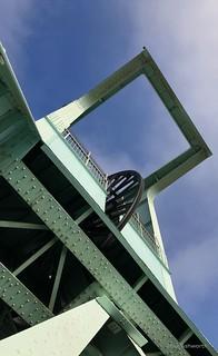 German Coal Mining Museum, Bochum ; the headstocks - headframes